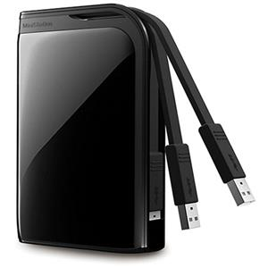 Buffalo 500GB MiniStation Plus USB 3 Portable Hard Drive HD-PZ500U3B