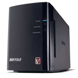 Buffalo LS-WVL/E LinkStation Pro Duo 2-Bay Network Attached Storage Diskless Enclosure LS-WVL/E