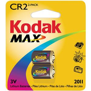 Kodak Max CR2 Batteries 8700395-863752