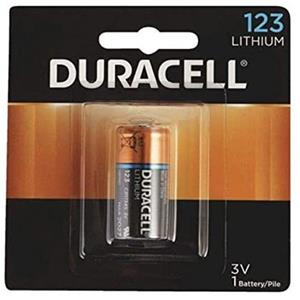 Duracell Ultra 123a Photo Lithium Battery DL123AB