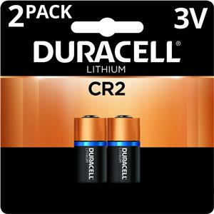 Duracell Ultra CR2 Photo Lithium Battery DLCR2B2