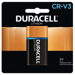 Duracell Ultra CR-V3 Photo Lithium Battery DLCRV3B