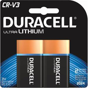 Duracell Ultra CR-V3 Photo Lithium Battery DLCRV3B2