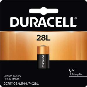 Duracell PX28L 6V Photo Lithium Battery PX28LB