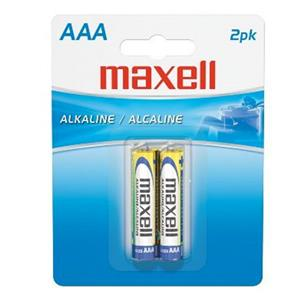 "Maxell ""AAA"" 1.5v Alkaline Battery (2-Pack) 723807"