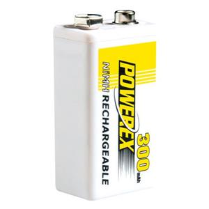 Maha PowerEx 8.4V 300mAh Rechargeable NiMH Battery MHR84V