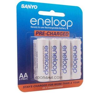 Sanyo Eneloop AA NiMH 2000 mAh Batteries, 8-Pack: Picture 1 regular