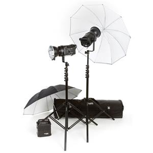 Bowens Gemini 200/200 Umbrella Travelpak Kit BW4630US