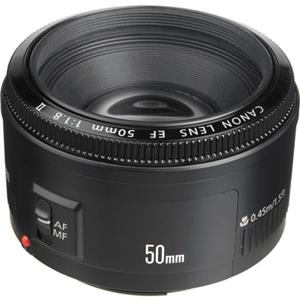 Canon EF 50mm f/1.8 II Normal Auto Focus Lens *...: Picture 1 regular
