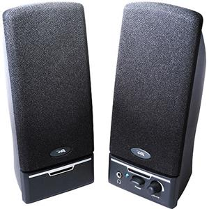 Cyber Acoustics CA-2014 2-Piece Amplified Computer Speaker System CA-2014RB