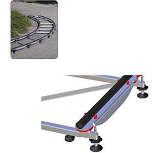 Cambo UTS-15 Dolly Track System, 49.2' Track and Rail System #99132983: Picture 1 regular