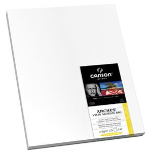 Canson Arches Velin Museum, 315gsm, 13x25in, 25 Sheets: Picture 1 regular