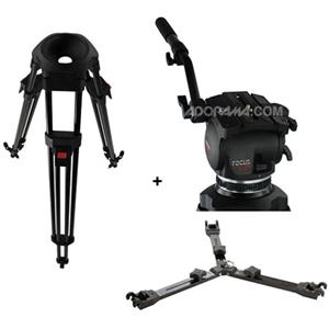 Cartoni Focus HD Head w/1 Stage Carbon Fiber Tripod: Picture 1 regular