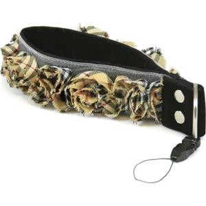 Capturing Couture Plaid Organza 1.5in Camera Strap: Picture 1 regular