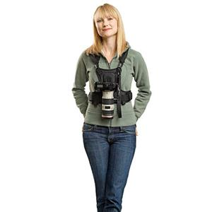 Cotton Carrier Camera Vest for 1 Camera, Black: Picture 1 regular