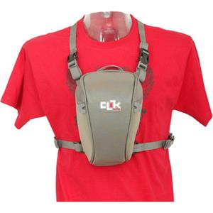 Clik Elite CE702GR Standard SLR Chest Pack, Gray: Picture 1 regular
