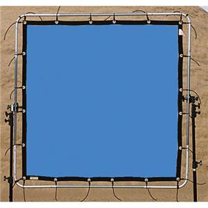 Sunbounce SunScrim Butterfly 6x6' Frame & Seamless Blue Box Textile. 06B0660