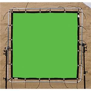 Sunbounce SunScrim Butterfly 6x6' Frame & Seamless Green Box Textile. 06B0665