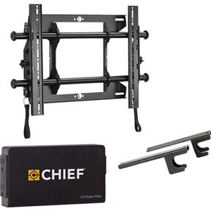 Chief KITMTAPC1 Fusion Universal Micro-Adjustable Tilt Wall Mount Kit KITMTAPC1