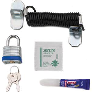 Chief LC1 6' Cable Lock Kit LC1