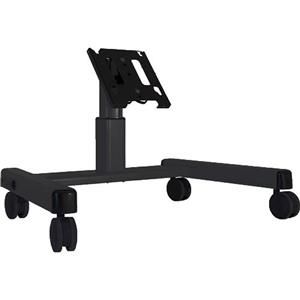 Chief MFQU 2' Medium Confidence Monitor Cart MFQUB