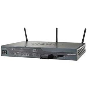 Cisco 887W Wireless Integrated Services ADSL2/2+ Annex A Router CISCO887W-GN-A-K9