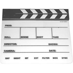 Cavision Professional Production Slate, Clapper Sticks: Picture 1 regular