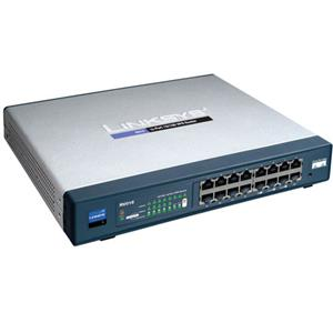 Cisco 16-port 10/100 Multi-WAN VPN Router RV016