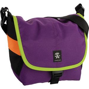 Crumpler 4 Million Dollar Home Shoulder Bag, Purple/Olive Green: Picture 1 regular