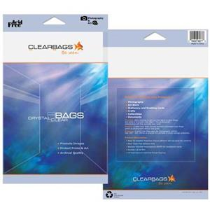 "ClearBags 9-7/16x12-1/4"" Crystal Clear RPA9X12"