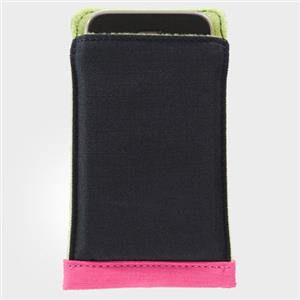 Crumpler Freckle for iPhone Pouch, Black/Green/Pink: Picture 1 regular