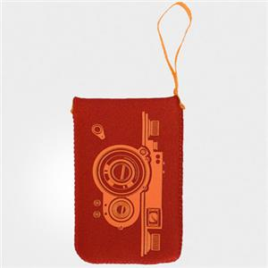 Crumpler The Grub (S) Camera Pouch, Rust Red: Picture 1 regular