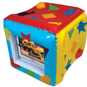 CTA Digital PAD-CUBE iPad Inflatable Play Cube: Picture 1 regular