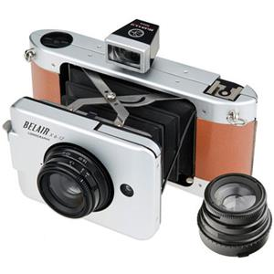 Lomography Belair X 6-12 Jetsetter Medium Format Folding Camera (Metal/Leather): Picture 1 regular