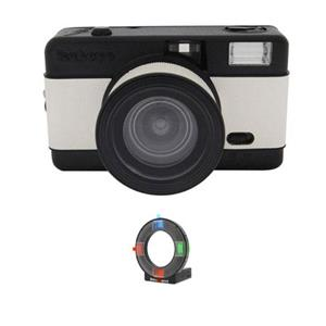 Lomography FishEye Point-n-Shoot 35mm (Black) Camera Kit CZLFEBRFK