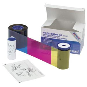 Datacard Short Panel Color Ribbon & Cleaning Kit, YMCKT, 650 Prints: Picture 1 regular