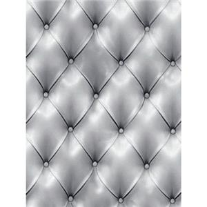 Denny Manufacturing 10x20' Silver Diamond Tuft Freedom Cloth Backdrop CPM6753