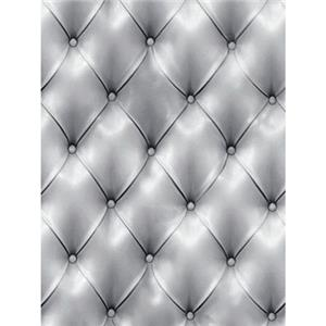 Denny Manufacturing 5x7' Silver Diamond Tuft Freedom Cloth Backdrop CPM675357