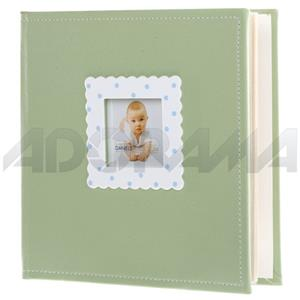 Dennis Daniels L2 Album, 200 - 4x6in Photos, Green: Picture 1 regular