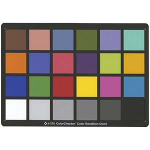 X-rite Color Checker Exposure Aid, 8-1/2 inch x 11 inch: Picture 1 regular
