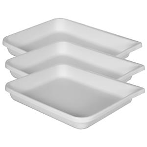 Cesco Plastic Print Developing Tray, Flat, 11x14x3 Deep: Picture 1 regular