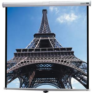 Da-Lite Deluxe Model B Manual Wall and Ceiling Projection Screen 40223