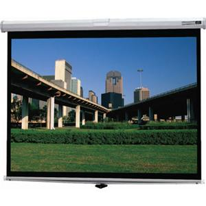 Da-Lite Deluxe Model B Manual Wall & Ceiling Projection Screen 73640