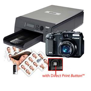 DNP Wireless Passport Photo System and Canon Powershot G12 Camera: Picture 1 regular