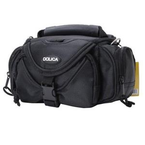 Dolica WB-3590 Small Point & Shoot Camera Case, Black/Orange: Picture 1 regular