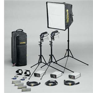 Dedolight Sundance Daylight/Tungsten 3-Light Kit S200-3