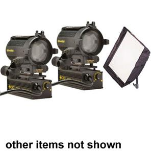 Dedolight S2BU Basic Traveler 4-Light Kit, 2-150 Watts: Picture 1 regular