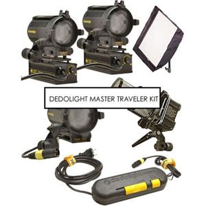 Dedolight S2MU Master Traveler Light Kit S2MU