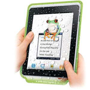Dual PB208GE Lilly Pad Reusable Protective Cover f/iPad: Picture 1 regular