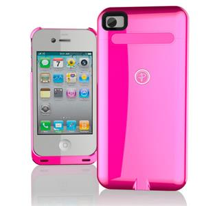 Duracell Powermat iPhone 4/4S Wireless Case - Pink: Picture 1 regular